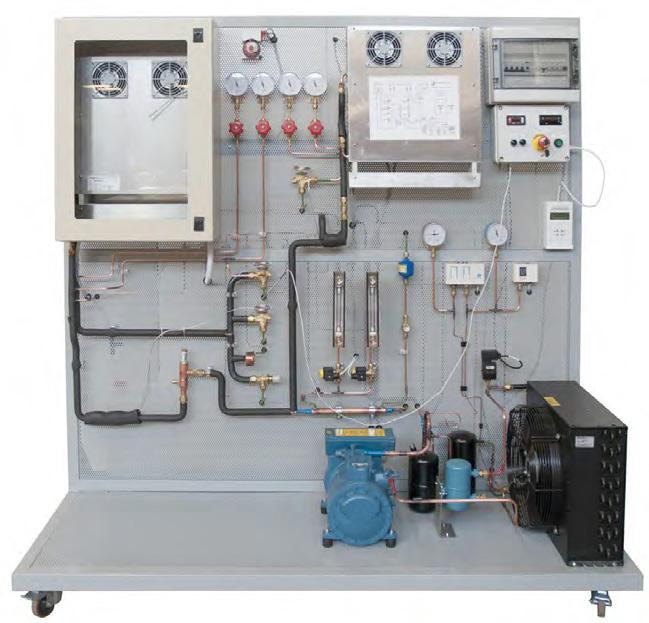 Treinador para Simulação de Falhas em Circuitos Elétricos e de Refrigeração – Ref. DT-TD093