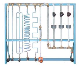 Unidade para Estudo de Perdas de Pressão em Circuitos de Ar Comprimido
